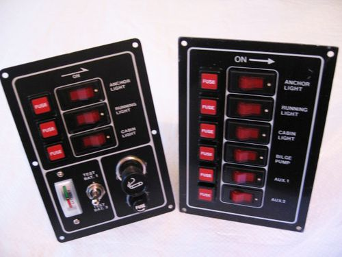 Electrical Switch Panels (Various Types)